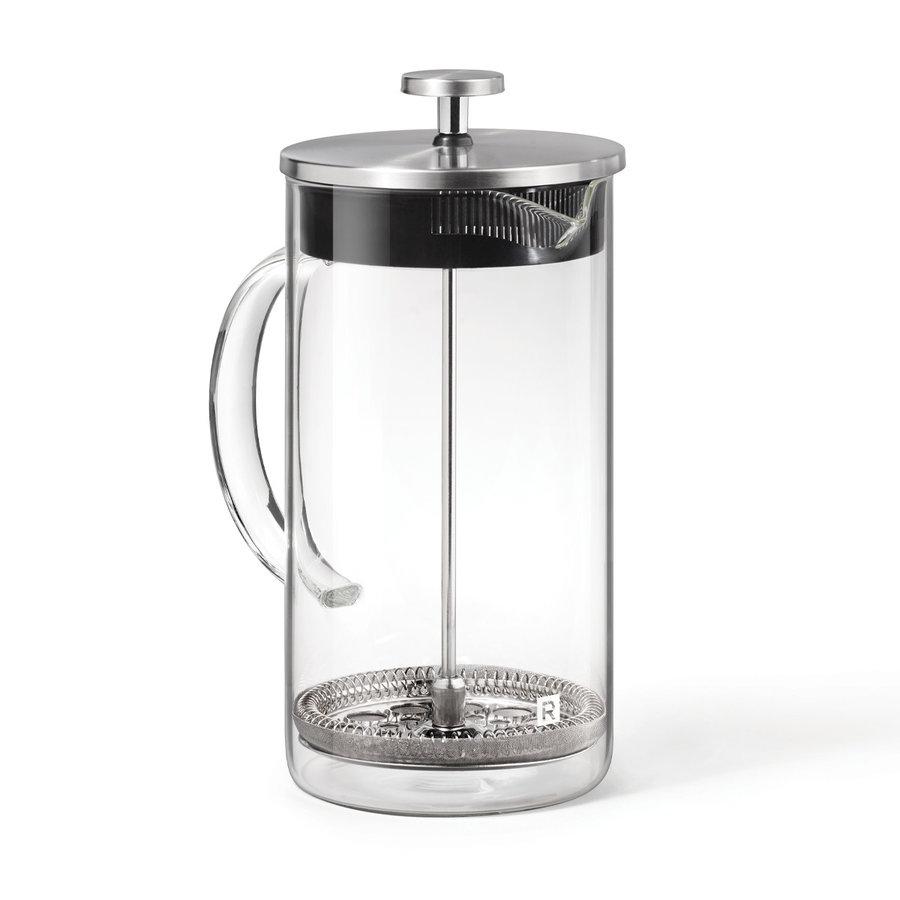 cafetiere a piston en verre 1l