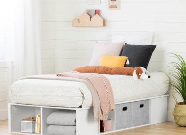 base de lit a vendre en bois ou en