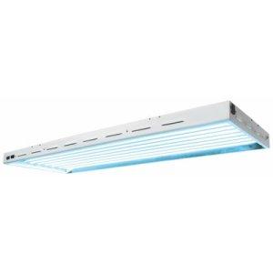 Sun Blaze 48 HO T5 Fluorescent Fixture  8 Lamp  4 Foot