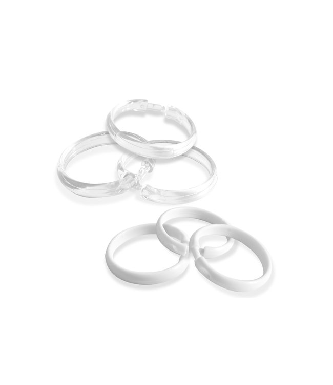 plastic shower curtain rings ast mp12