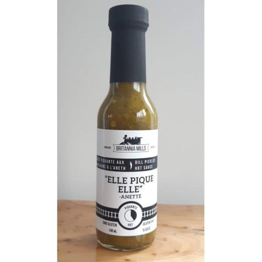 britannia mills elle pique elle aneth sauce piquante 148ml