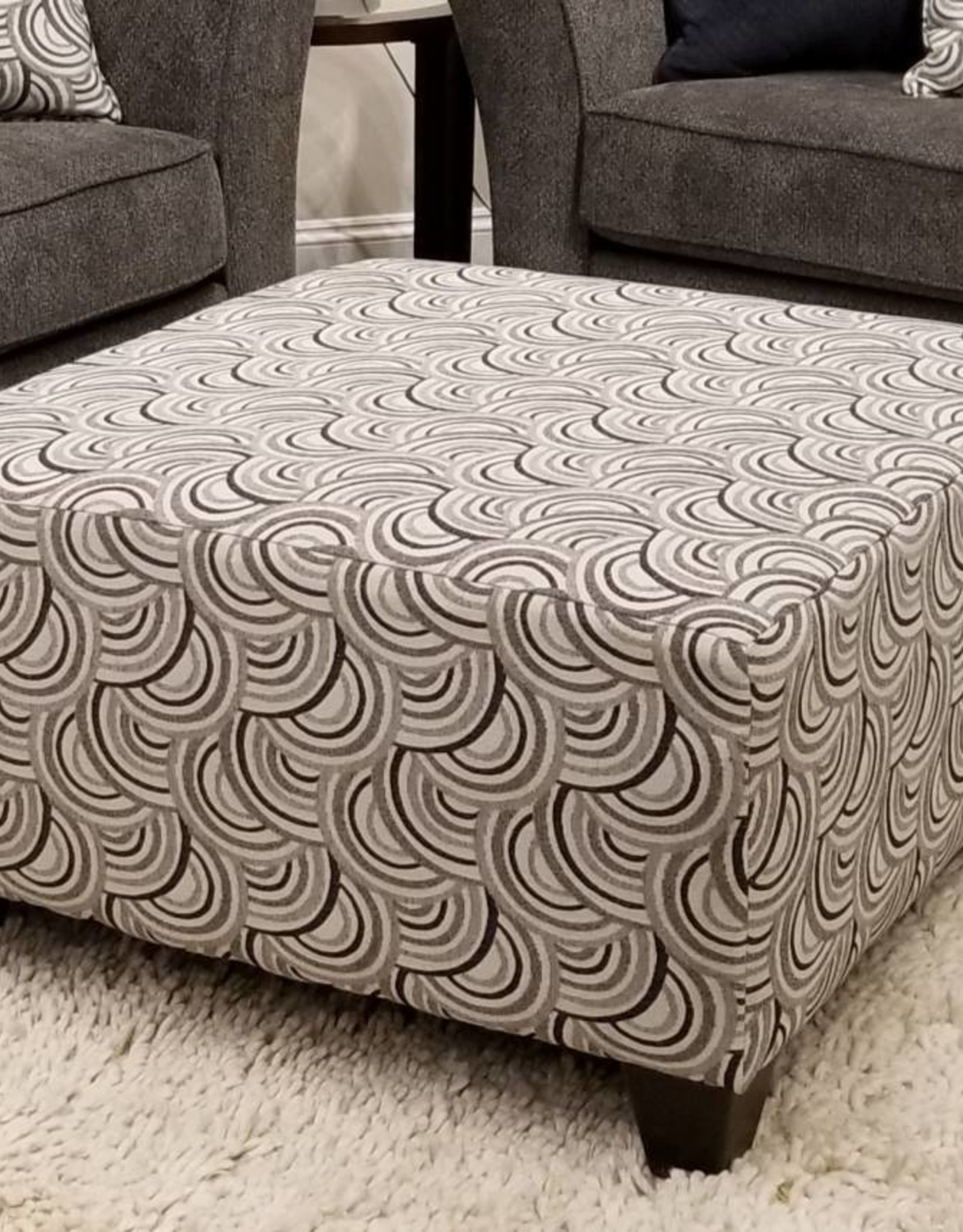 united albany pewter cocktail ottoman basta silver