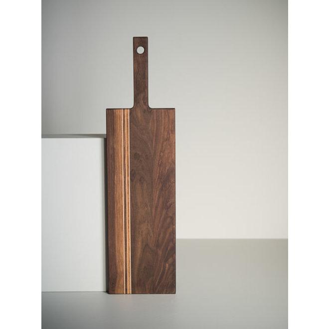 arbol arbol planche avec poignee petite noyer 56 cm 22
