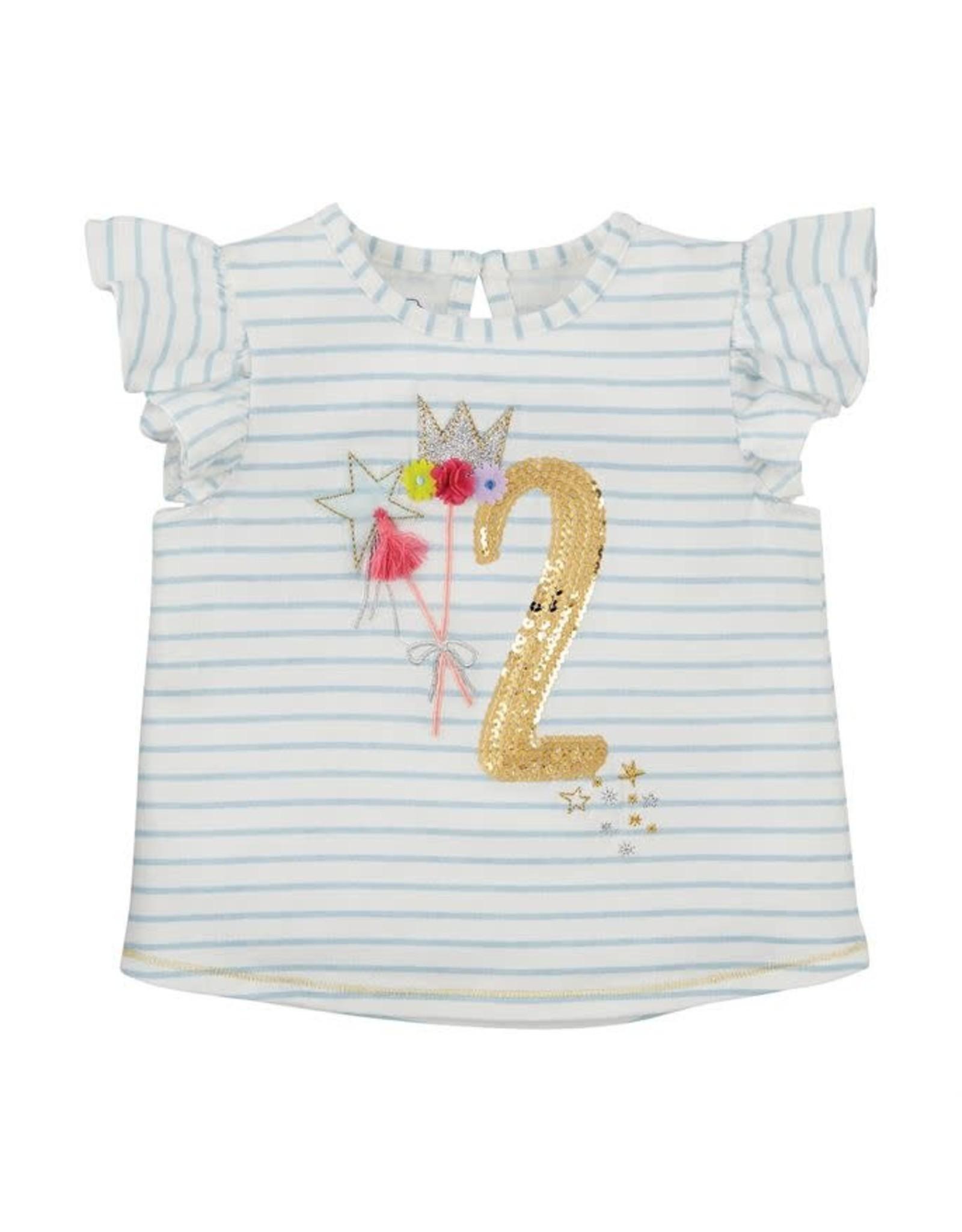 Mud Pie Two Birthday Shirt 24m 2t Freckles Children S Boutique