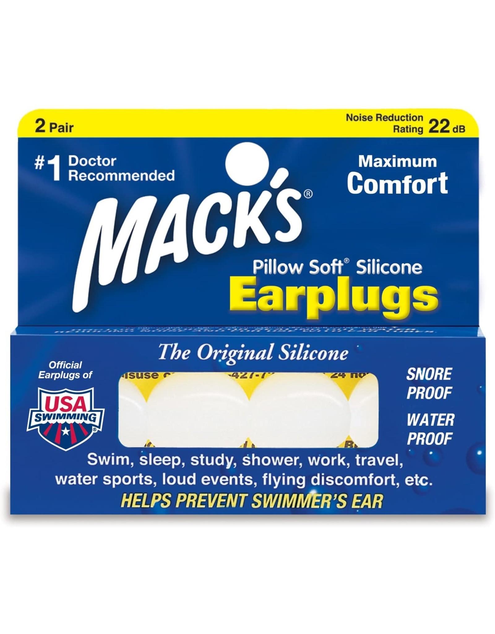 mack s pillow soft ear plugs 2 pair