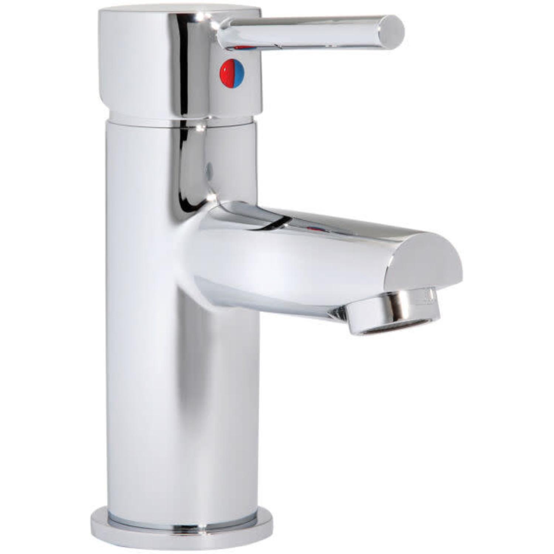 taymor luna polished chrome bathroom faucet
