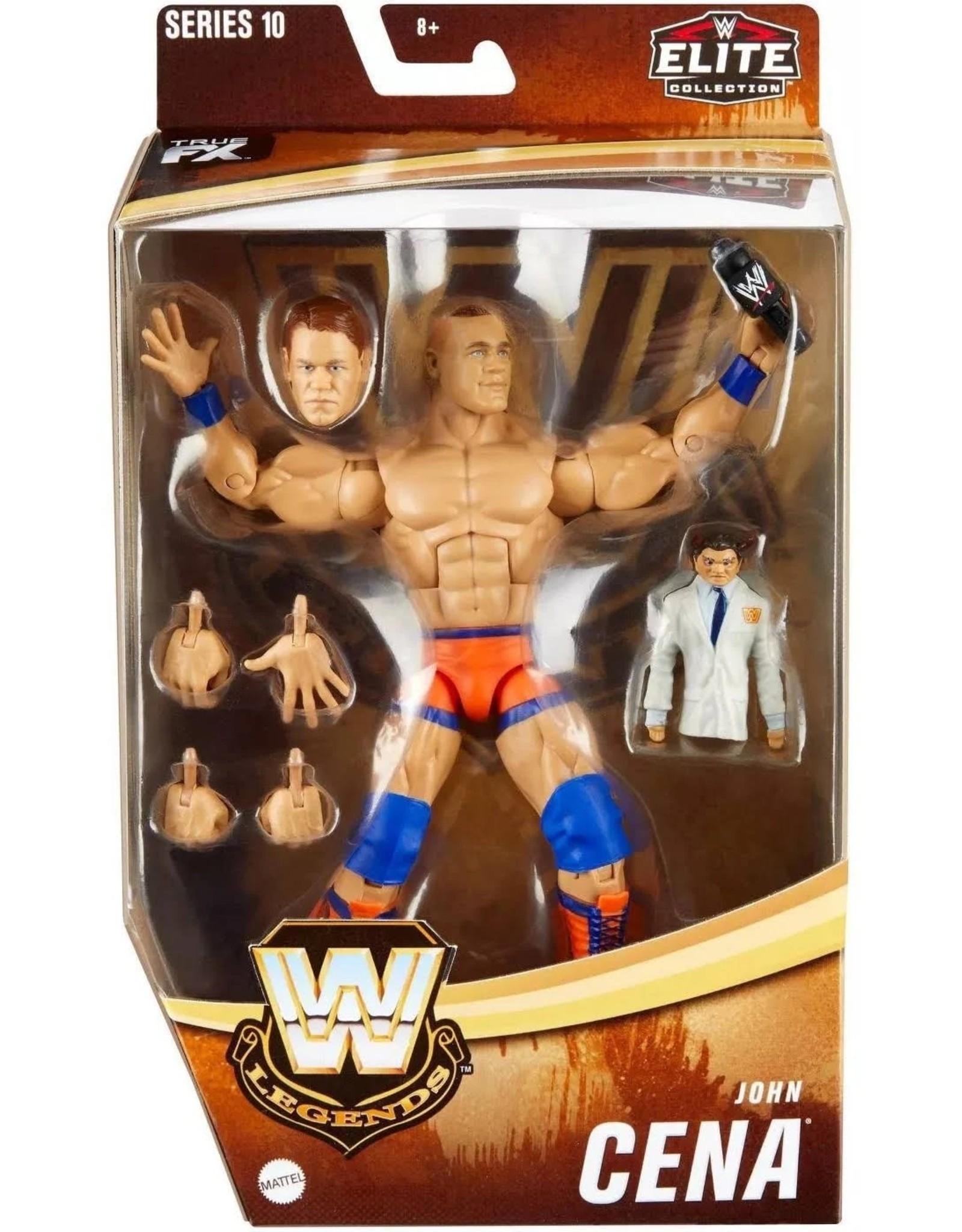 Mattel Wwe Legends Series 10 John Cena Action Figure