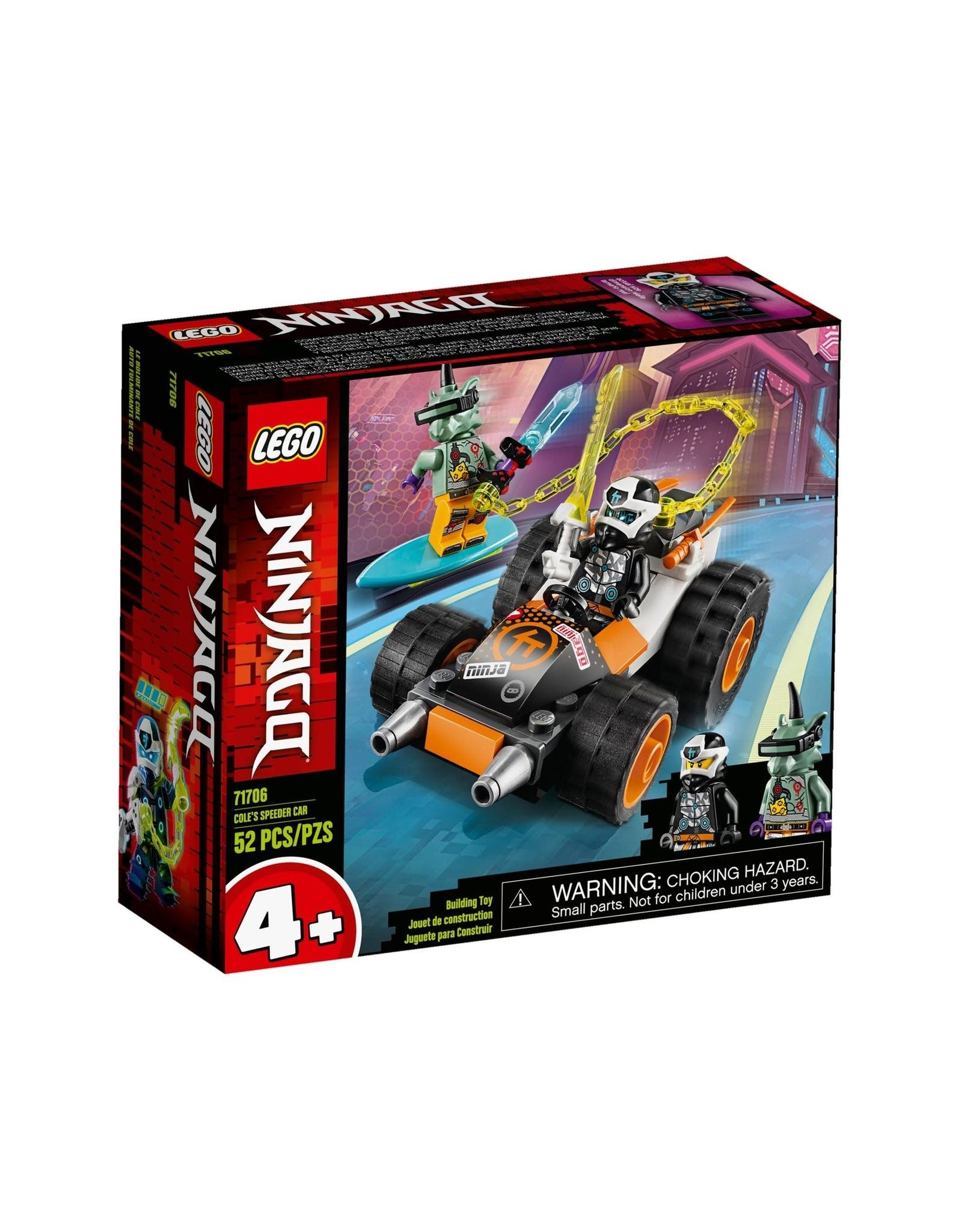 Lego Ninjago Cole S Speeder Car
