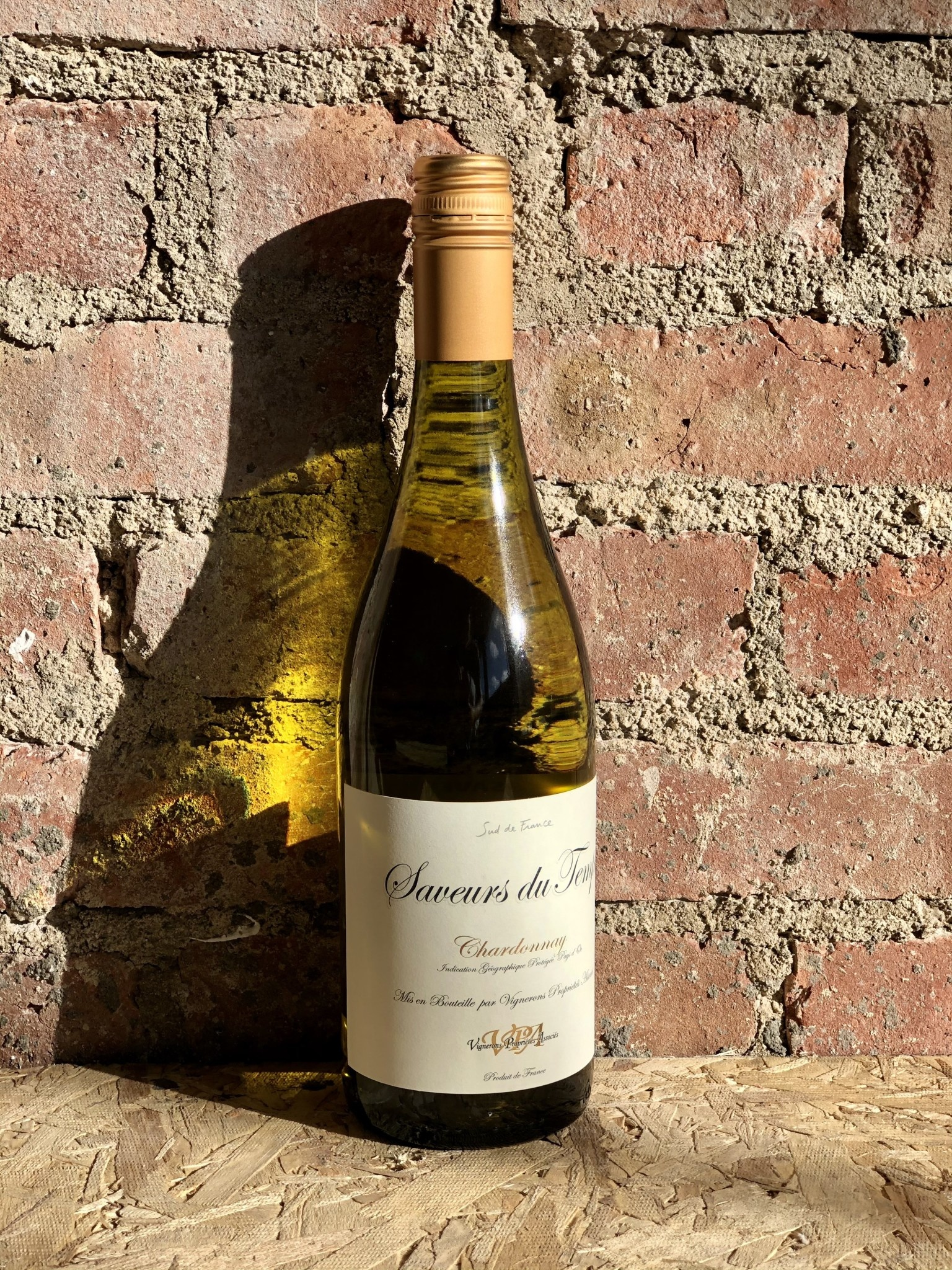 saveurs du temps chardonnay chardonnay pays d oc france 2019