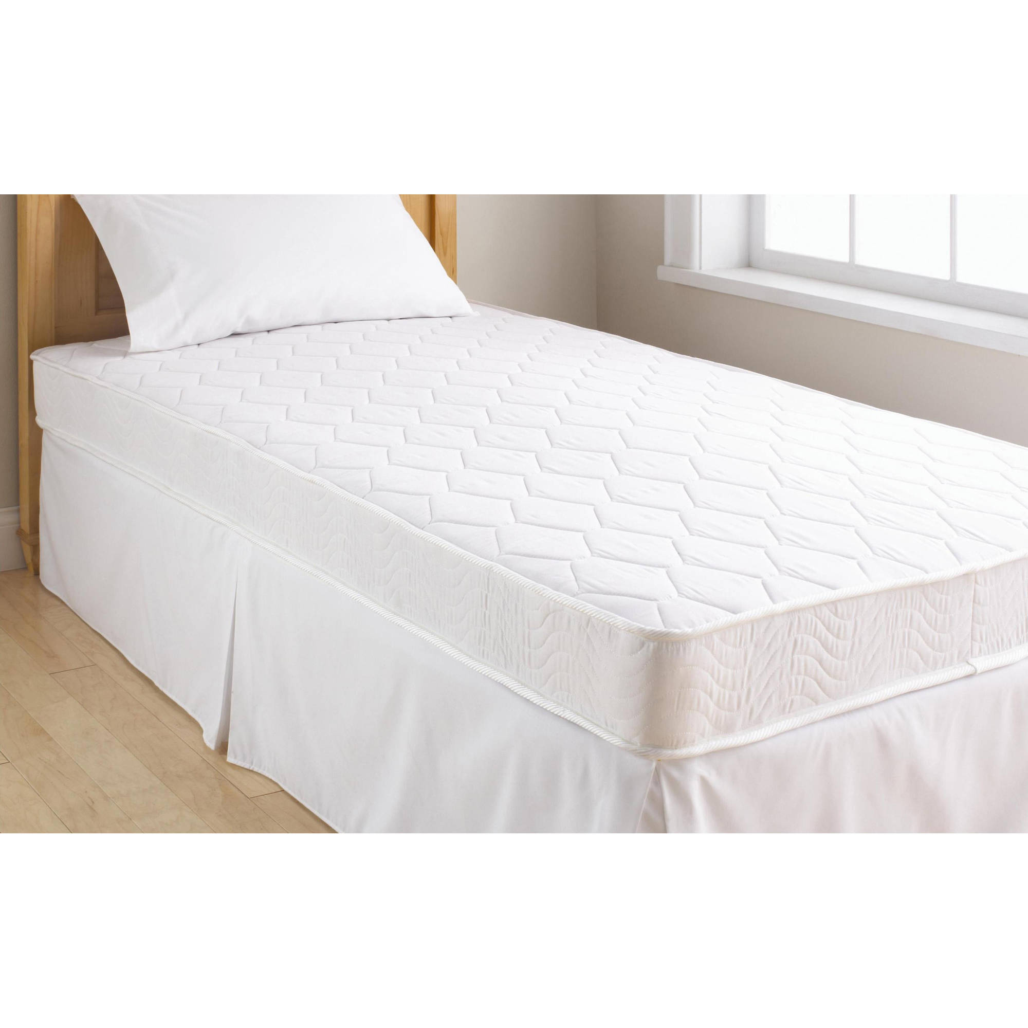 Mainstays 6 Coil Mattress Twin Size And Your Choice Of