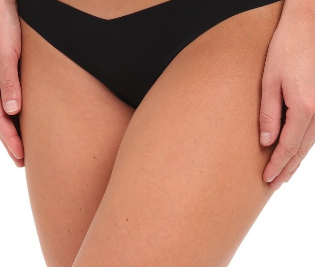 Commando Laser Cut Tiny Thong Front Cropped Image