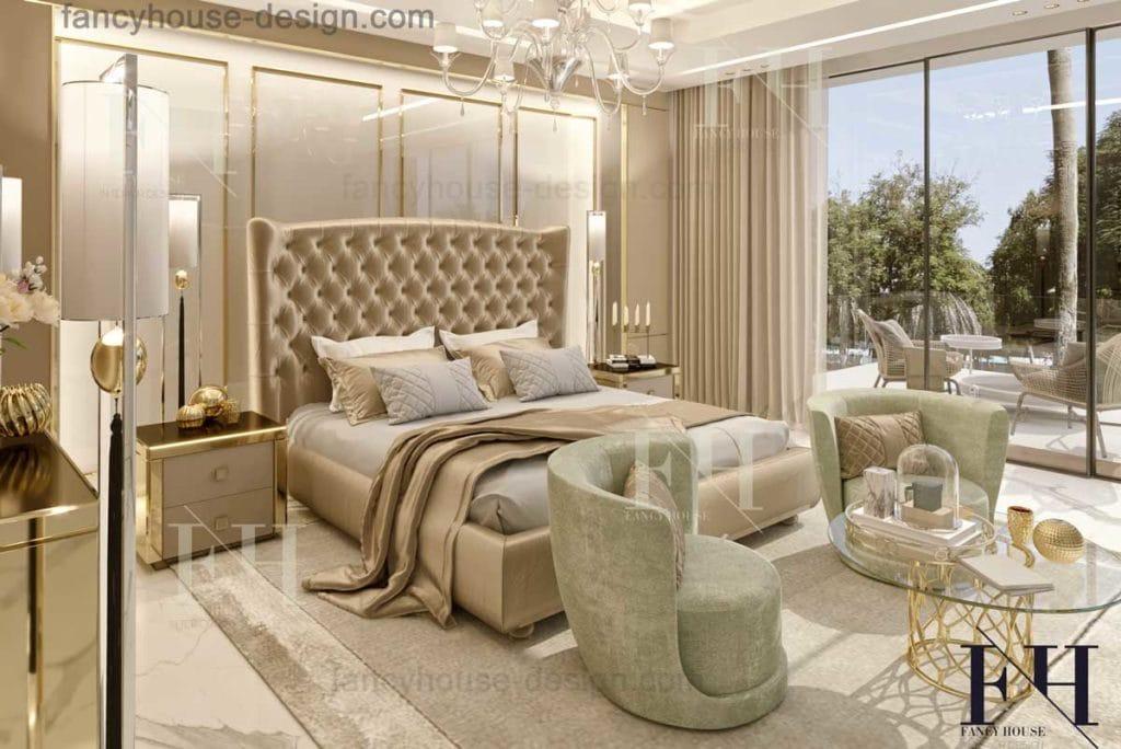 Master bedroom interior design in Dubai UAE| Bedroom ...