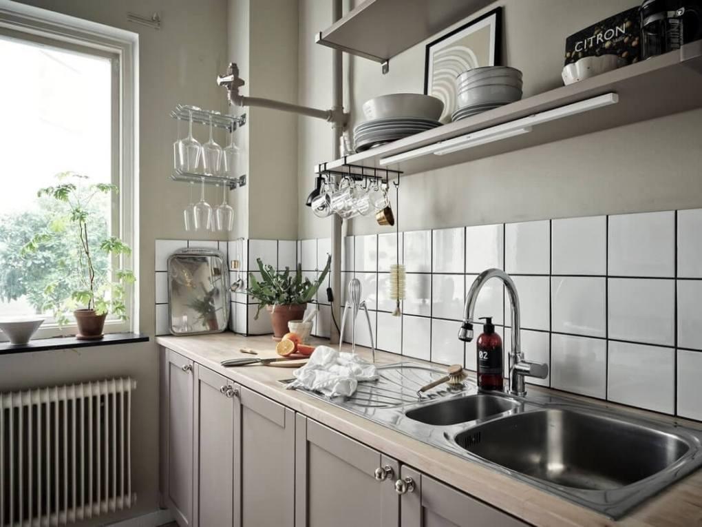 thiết kế nhà bếp có cửa sổ