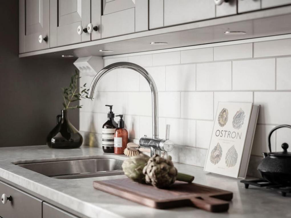 thiết kế nhà bếp trong căn hộ
