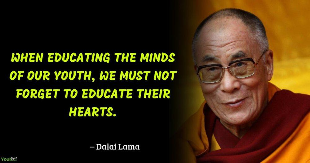 Education Quotes by Dalai Lama