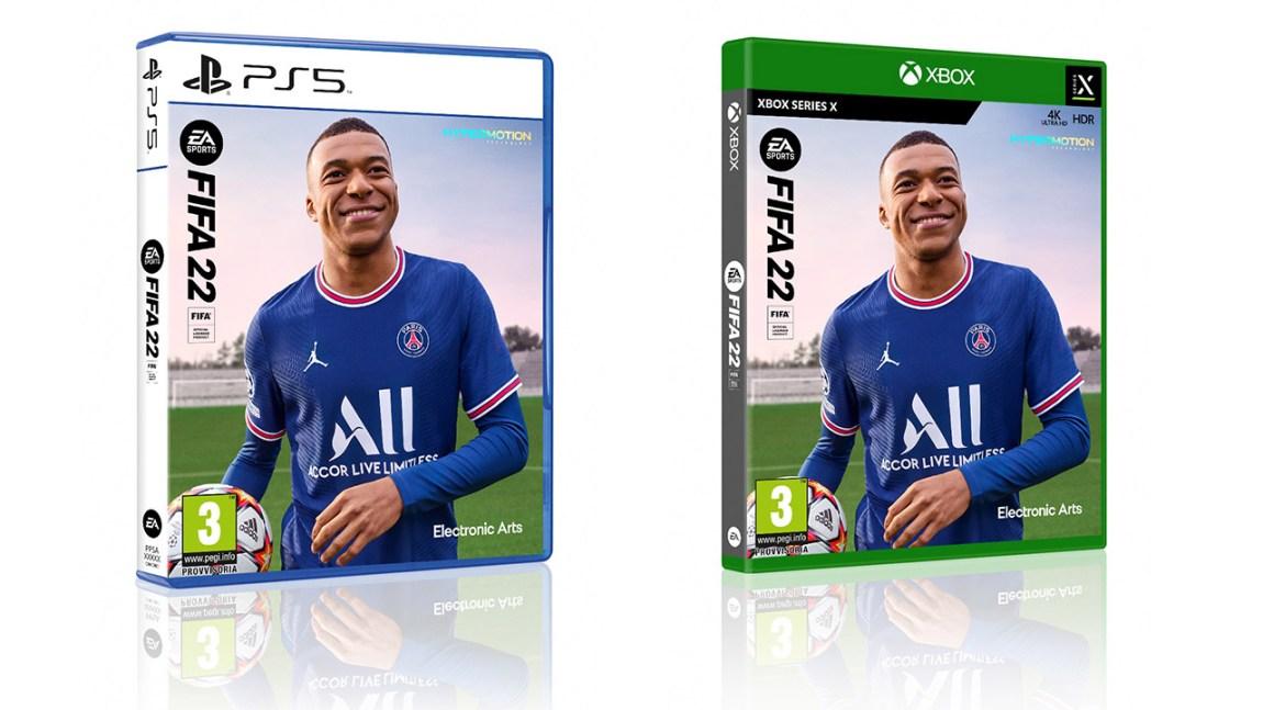 FIFA 22 gamestopzing xsx ps5 gamesoul