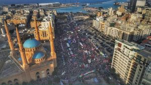 Contemporary violence in Lebanon prompts calls to peace; hope for change rising. - Mission Community Information