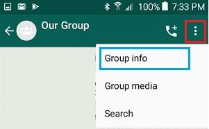 Set WhatsApp Group Photo Info image3