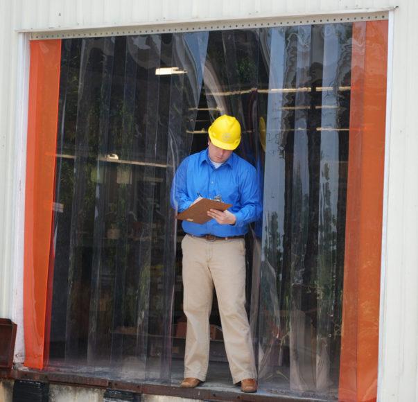 pvc strip curtains plastic door