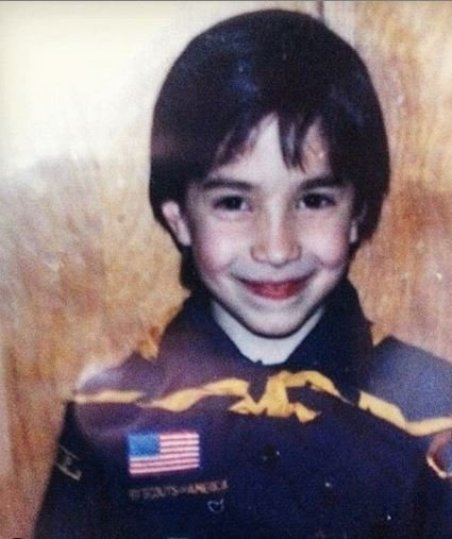 Justin Long's childhood picture