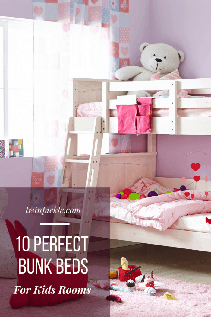 How To Choose The Perfect Bunk Beds Twin Pickle