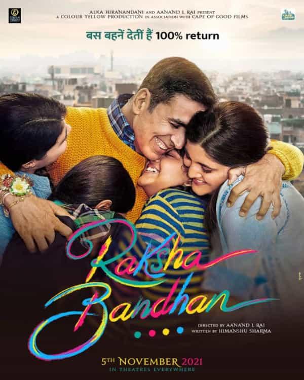 Raksha Bandhan (2021) Download Full Movie 480p 720p filmywap