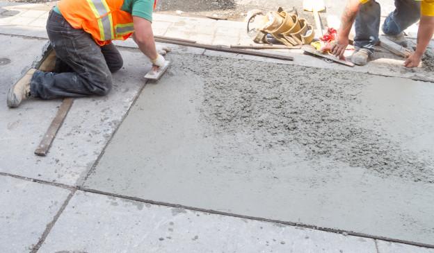 concrete patio on a budget