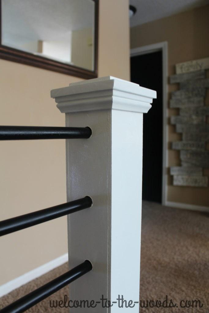 Stair Railing Diy Makeover | Diy Metal Stair Railing | Outdoor | Exterior | Beginner | Indoor | Metal Baluster Drywall