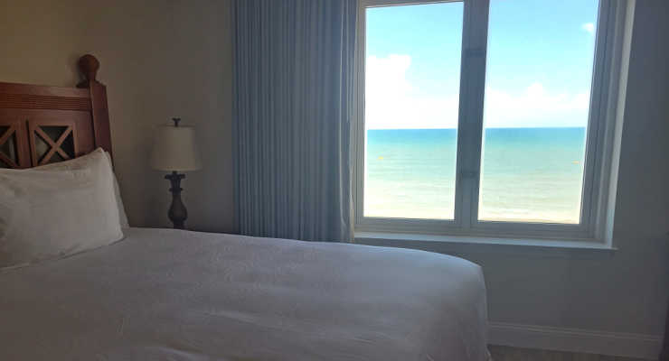 Bedroom at Westgate Myrtle Beach Resort
