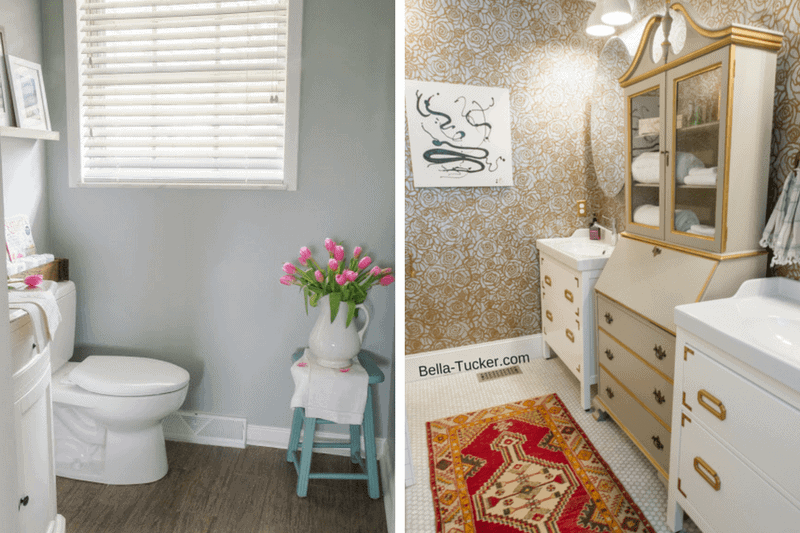 8 Amazing (and Affordable) Powder Room Ideas