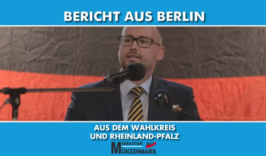 Bericht aus Berlin KW41 / 2019