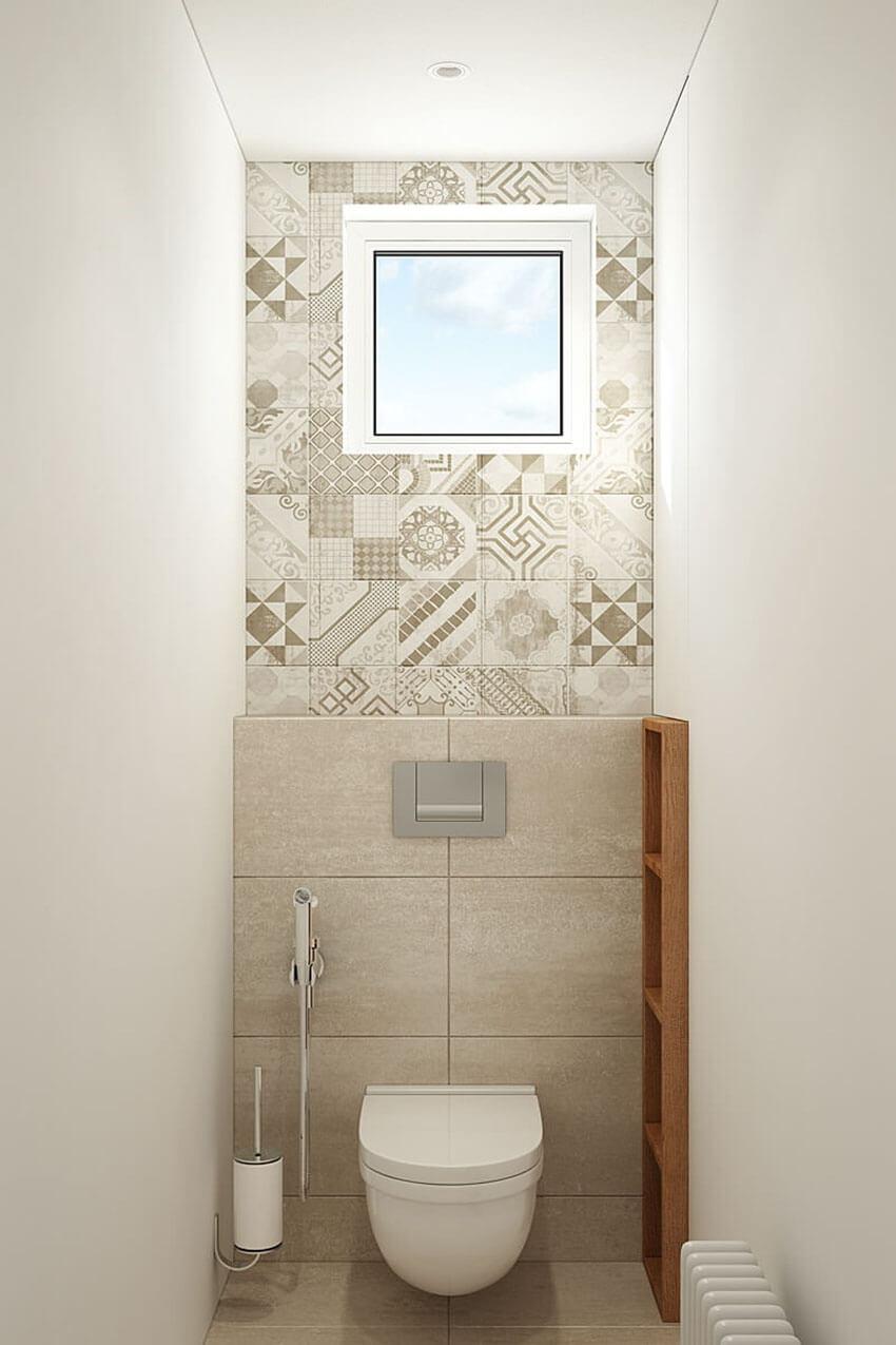 плитка в туалете дизайн фото 5
