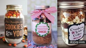 32 Mason Jar Cookie Recipes | DIY Joy Projects and Crafts Ideas