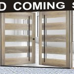 Modern Wood Front Doors Wood Glass Front Doors