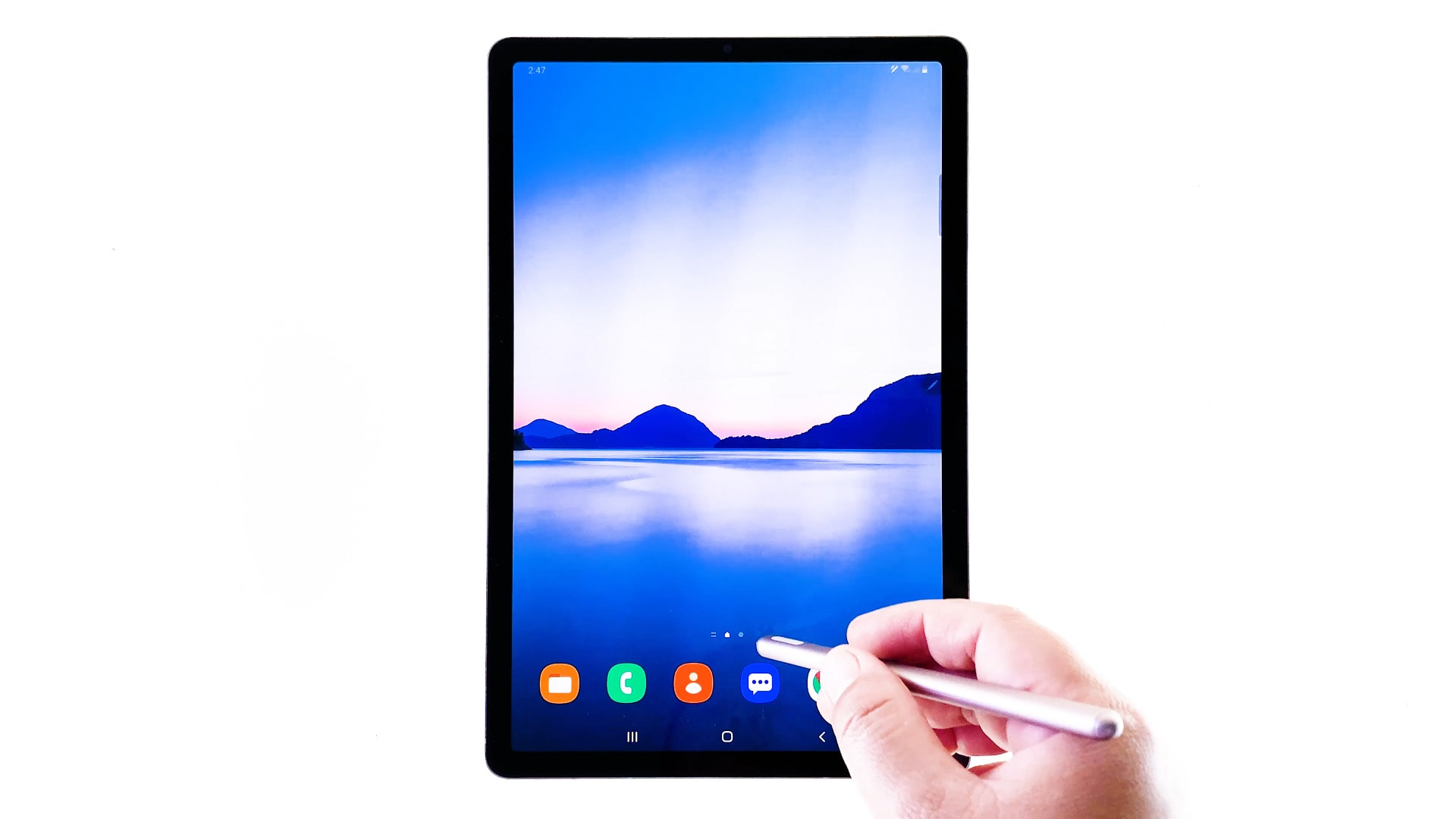How To Change Font Size And Font Style On Galaxy Tab S6