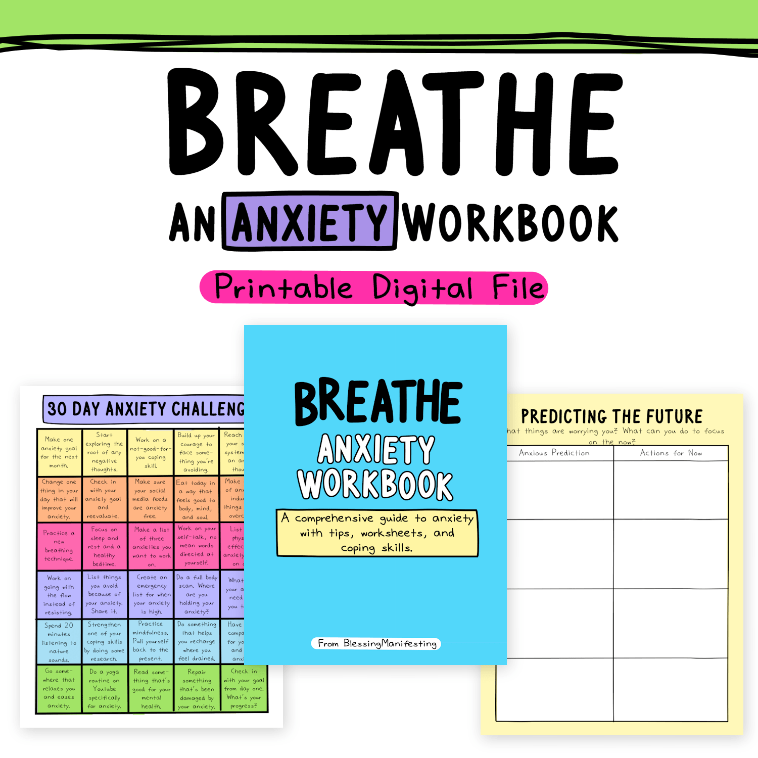 Breathe An Anxiety Workbook