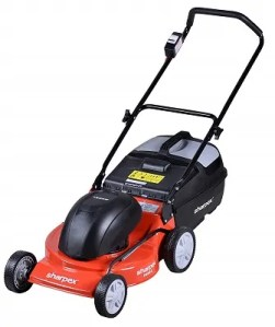 Sharpex 18 inch Blade Electric Lawn Mower with Grass Catcher and Cable