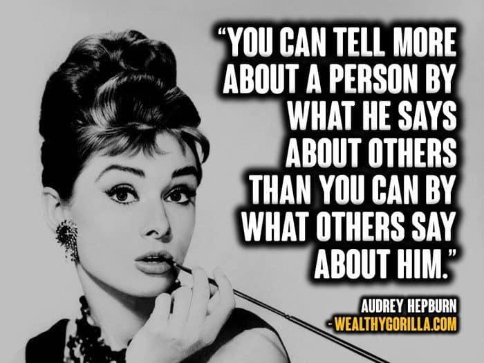 66 Inspirational Audrey Hepburn Quotes | Wealthy Gorilla