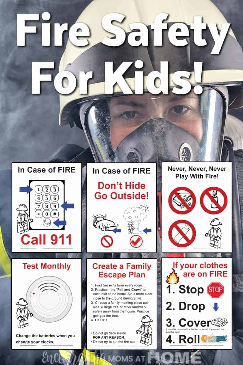 fire safety for kids plus free