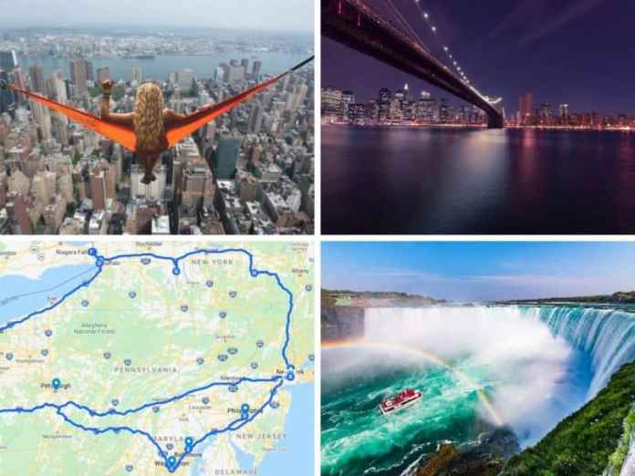 Detroit To New York Road Trip Itinerary Town Tourist