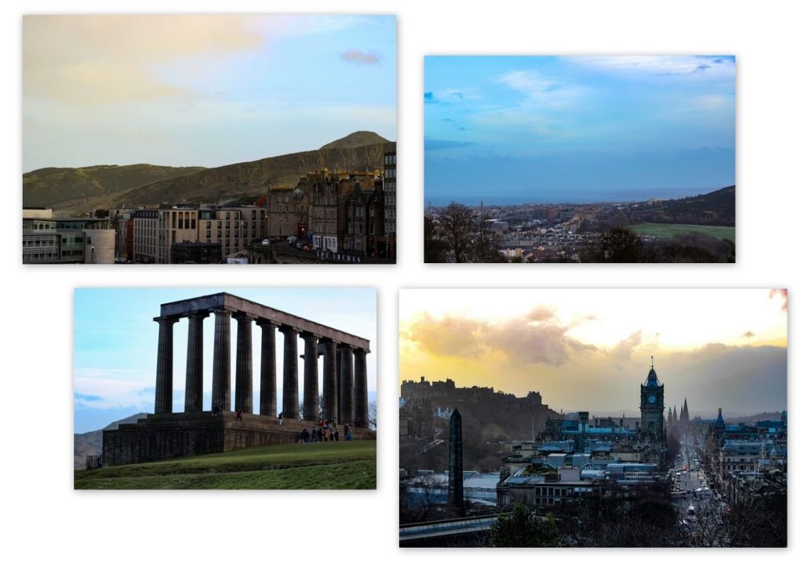 Edinburgh markeert Calton Hill