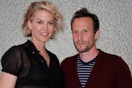 Richard's son Bodhi Elfman with his wife, Jenna.