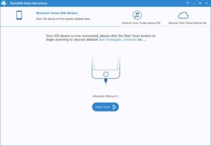 Anvsoft SynciOS Data Recovery 3.1.3 With Crack [Latest 2021]