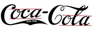 grafologia de Coca-Cola