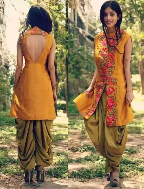 Back Neck Design of Salwar suit