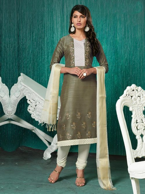 Churidar Salwar Suit Designs