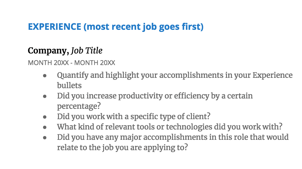 resume-experience-data-science