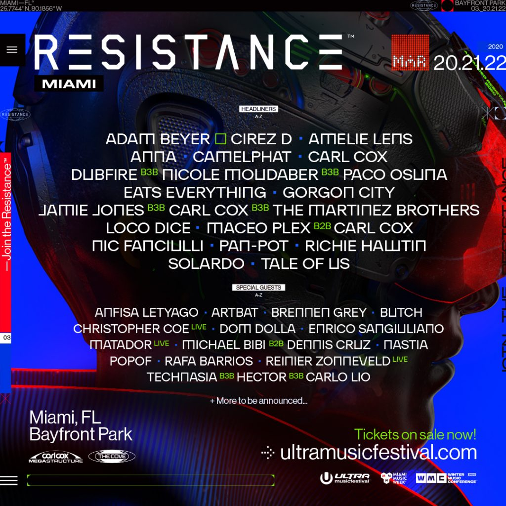 resistance miami 2020