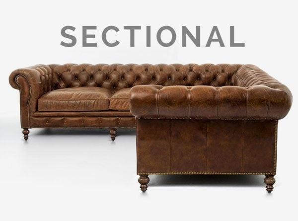hemingway custom chesterfield sofa