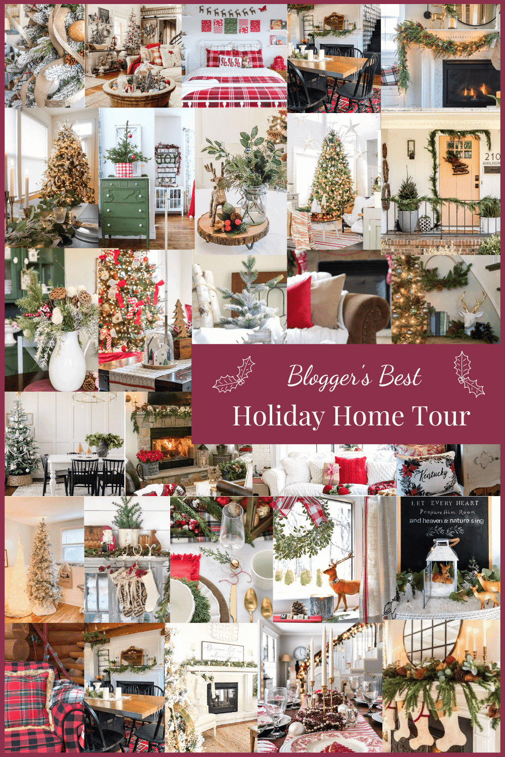 Blogger's Best Holiday Home Tour
